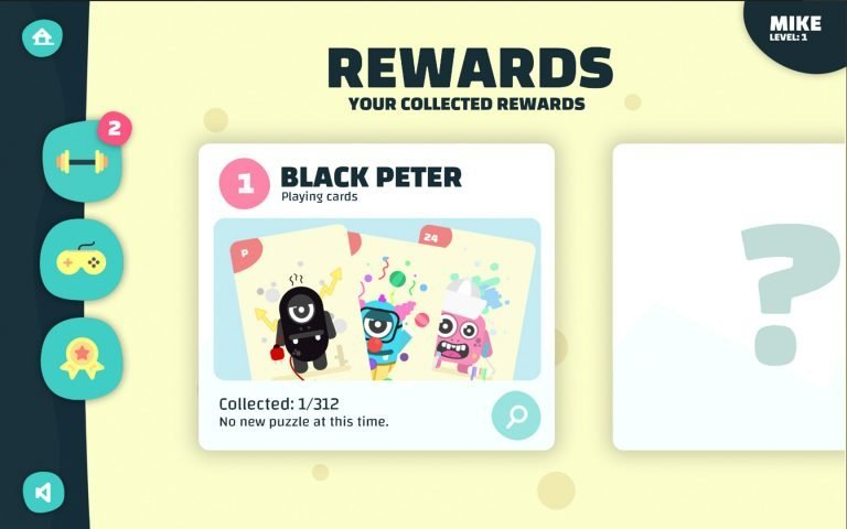AmblyoPlay rewards collection