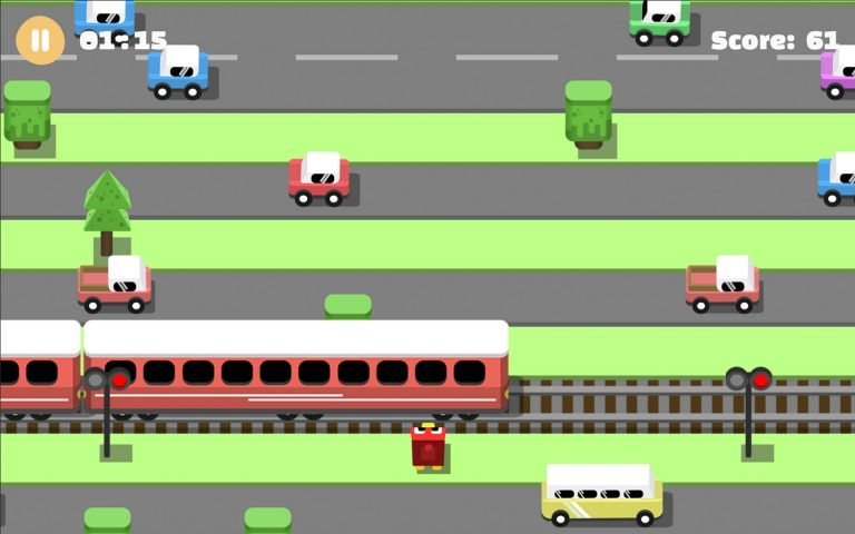 AmblyoPlay Cross The Road game (Monocular)
