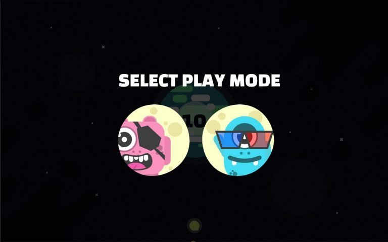 AmblyoPlay gameplay selection menu