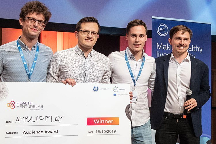 AmblyoPlay receives Health Venture Lab audience award
