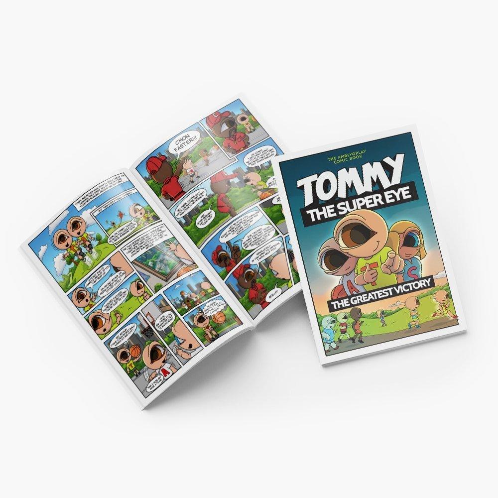 AmblyoPlay Comic Book